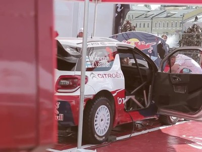 Citroën WRC 2012 - Mikko Hirvonen @ Moscow City Racing