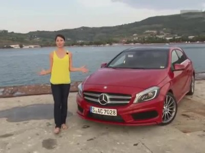 MB-Reporter Torie drives the new A-Class
