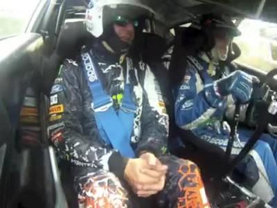 Ken Block on board - Jarri-Matti Latvala