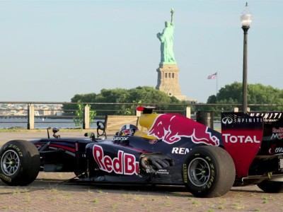 RED BULL IN NEW YORK FOR US GP 2013
