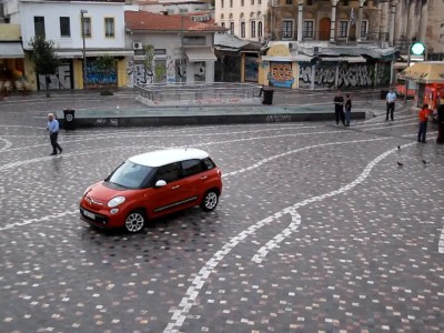 Fiat 500L @ Greece