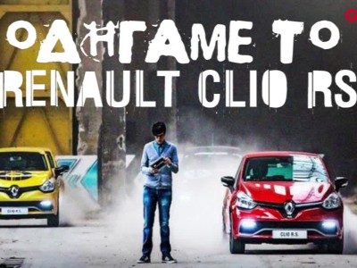 Asphalt8 with Renault Clio RS