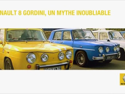 Renault 8 Gordini, an unforgettable myth