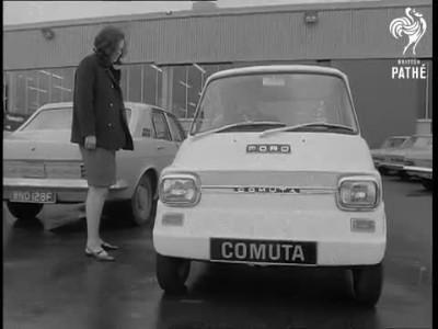 Ford Comuta: Ηλεκτρικό όχημα του 1967