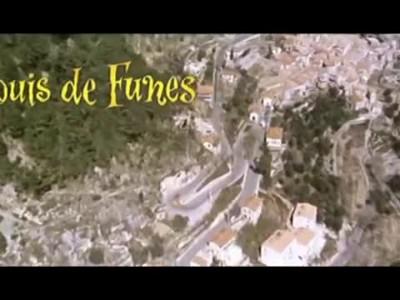 Louis de Funes - Fiat 124 Coupe -Miura P400 - L homme orchestre (1970)