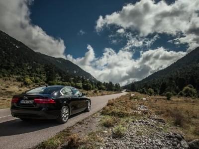 Jaguar XE timelapse