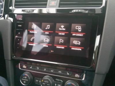 VW Golf Gesture control test