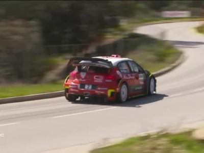WRC 2017 Tour de Corse Day 1