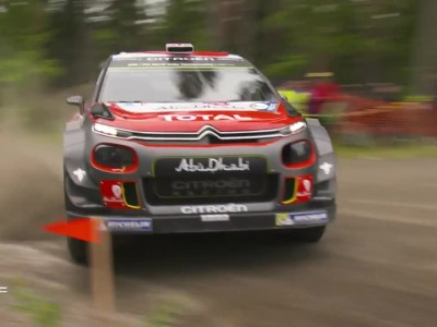 WRC 2017 Finland Shakedown
