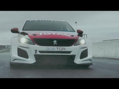 PEUGEOT 308TCR - ON THE INTERNATIONAL STAGE
