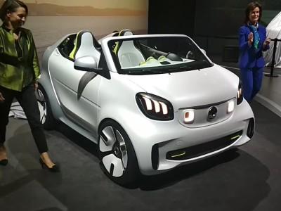 Meet Mercedes - smart forease - Paris 2018