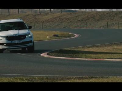 O Jan Kopecky οδηγεί το Skoda Kodiaq RS