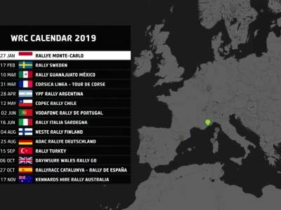 Αρχή στο WRC του 2019 με το Μόντε Κάρλο