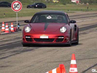 'Δρόσισαν' με παγάκια μια Porsche 1.600 ίππων!