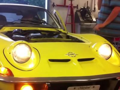 Περίεργα φώτα αυτοκινήτων - Opel GT