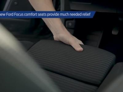 Τα καθίσματα του Ford Focus προστατεύουν την πλάτη σου