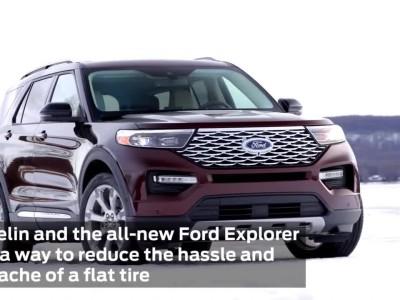 Τα ελαστικά του Ford Explorer που δεν ξεφουσκώνουν
