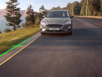 Ford Focus - Lane-Centring