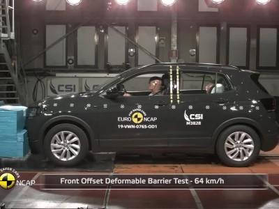 Δοκιμή Euro NCAP Volkswagen T-Cross