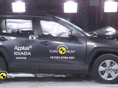 Δοκιμή Euro NCAP Toyota RAV4