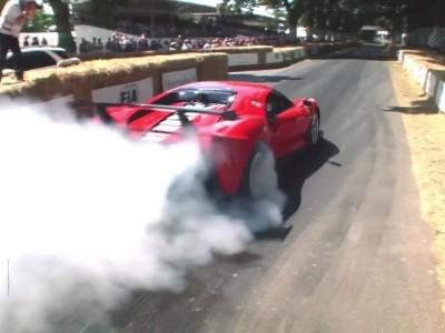 Τρία πρότζεκτ μοντέλα της Ferrari έλαμψαν στο Goodwood