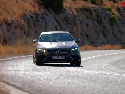 GOCAR TEST - Mercedes Benz CLA 180d