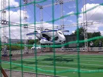 Ιπτάμενο αυτοκίνητο από τη NEC