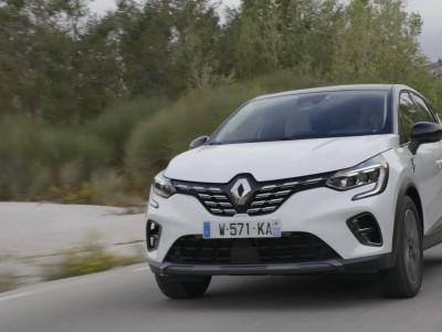 Νέο Renault Captur οδήγηση στην Ελλάδα