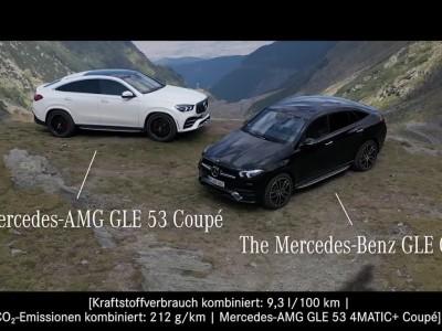Η νέα Mercedes-Benz GLE Coupe στη διαδρομή Transfagarasan