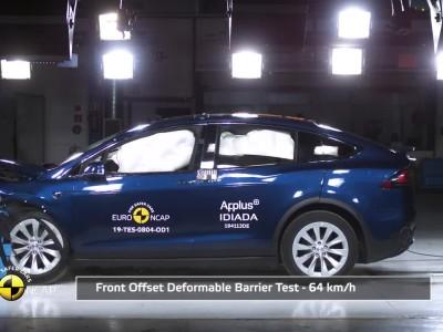 Δοκιμή Euro NCAP - Tesla Model X 2019