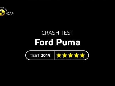 Δοκιμές Euro NCAP για το Ford Puma 2019