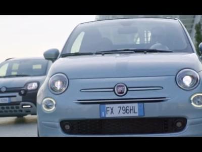 Τα υβριδικά Fiat 500 και Panda
