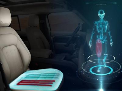Jaguar Land Rover - Καθίσματα που αλλάζουν σχήμα