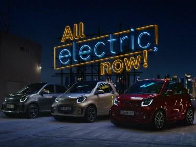 Τα ηλεκτρικά smart EQ: fortwo, cabrio, forfour