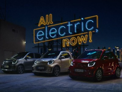Τα ανανεωμένα ηλεκτρικά smart EQ 2020