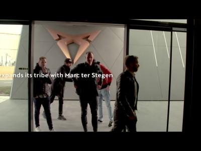 O Ter Stegen οδηγεί το Cupra Ateca Limited Edition