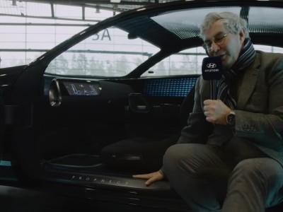 O Luc Donkerwolke παρουσιάζει το αυτόνομο Hyundai Prophecy