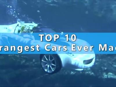 ΤΟP 10 - Τα πιο περίεργα αυτοκίνηα