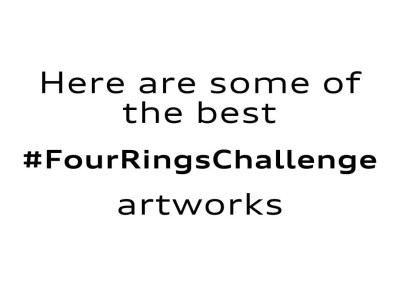 AUDI logo challenge