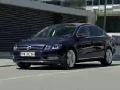 VW Passat 2011 driving