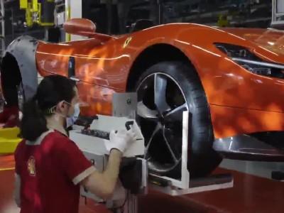 Επανέναρξη λειτουργίας των εργοστασίων της Ferrari
