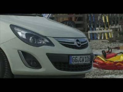 Opel Corsa 2011 Statics