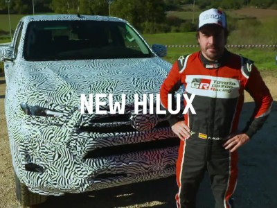 Toyota Hilux - Alonso`s first experience_2020.06
