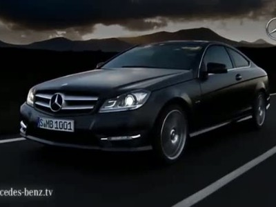 Mercedes C-Class coupe 2012