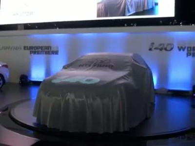 Hyundai i40 official debut