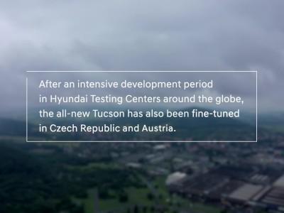 Πώς έγιναν οι τελευταίες δοκιμές του νέου Hyundai Tucson