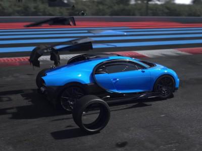 Bugatti Bolide Animation