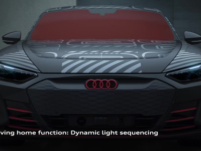 Audi RS e-tron GT Prototype - The lights