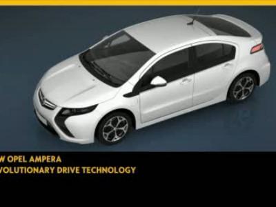 Opel Ampera animation