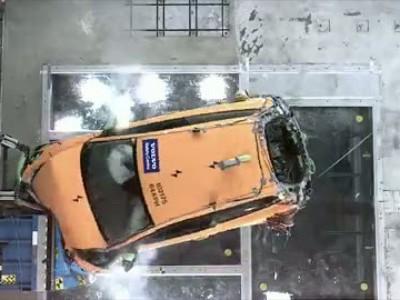 Volvo C30 Electric Crash Test